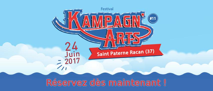 Réservez vos places pour le festival des Kampagn'arts !